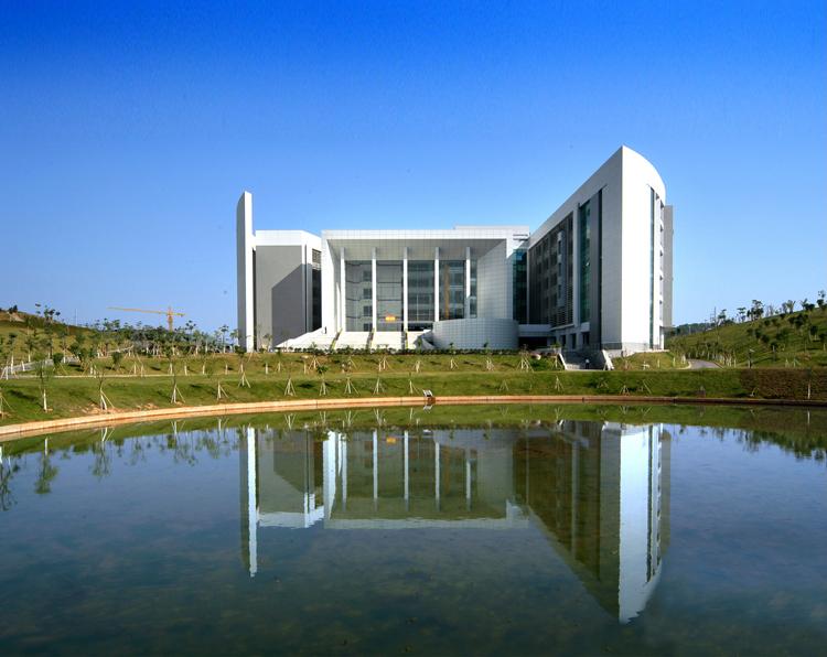 华南师范大学大学城校区图书馆